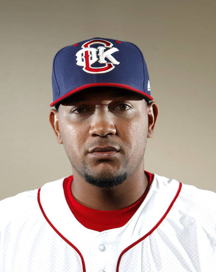 MINOR LEAGUE BASEBALL: Diory Hernandez poses for a photograph during media day for the Oklahoma City RedHawks in Oklahoma City, Tuesday, April 3, 2012. Photo by Sarah Phipps, The Oklahoman