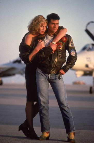 Kelly McGillis and Tom Cruise star in �Top Gun: An IMAX 3-D Experience.� PARAMOUNT PICTURES PHOTO