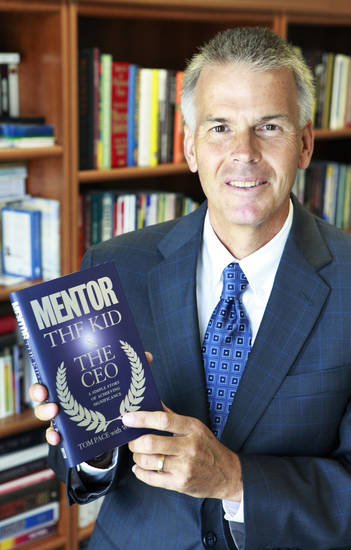 Oklahoma City business owner and literacy advocate Tom Pace wrote the book �Mentor: The Kid & The CEO.� Photo by David McDaniel, The Oklahoman archives