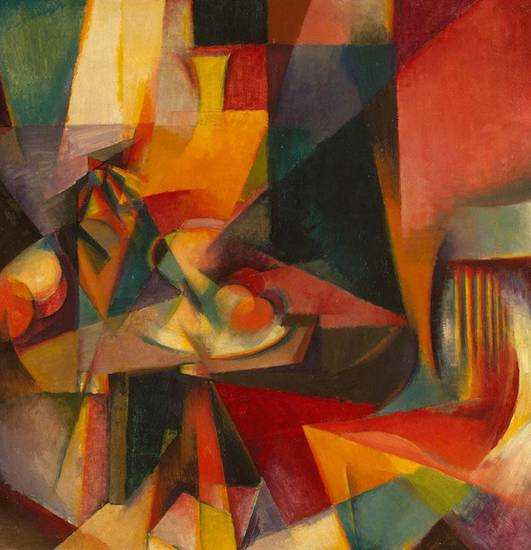 &quot;Synchromy No. 3,&quot; a 1917 work by Stanton Macdonald-Wright.