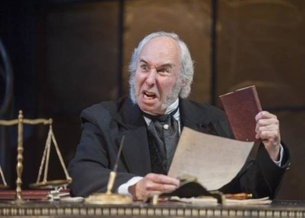 "Chris Bloch, an actor based in Washington, D.C., makes his Lyric Theatre of Oklahoma debut playing Ebenezer Scrooge in Lyric's third annual production of ""A Christmas Carol."" Photo provided."