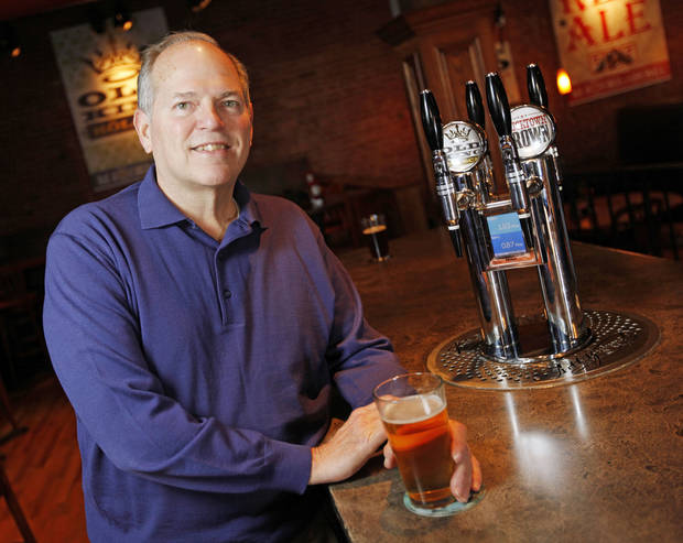 Buck Warfield poses for a photo at the Bricktown Brewery in Oklahoma City, Friday, Jan. 6, 2012. Photo by Nate Billings, The Oklahoman