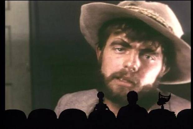 "The ""MST3K"" crew riffs on ""Manos: The Hands of Fate"" in a 1993 episode."