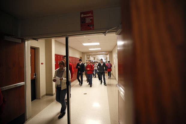at U.S. Grant High School in Oklahoma City, Friday, Feb. 24, 2012. Photo by Sarah Phipps, The Oklahoman