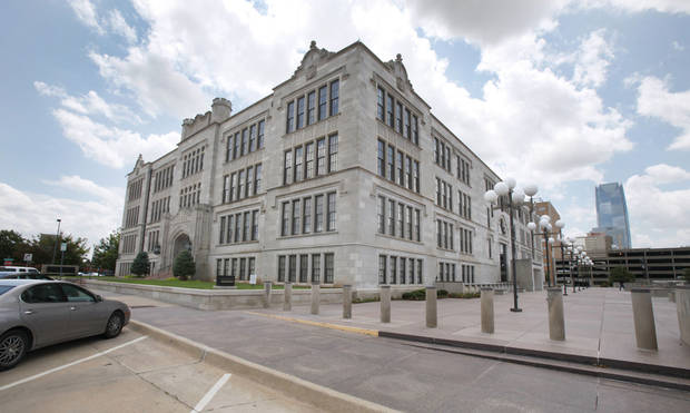 Oklahoma City University will move its law school into the former Central High School building in Oklahoma City. Photo by Steve Gooch, The Oklahoman