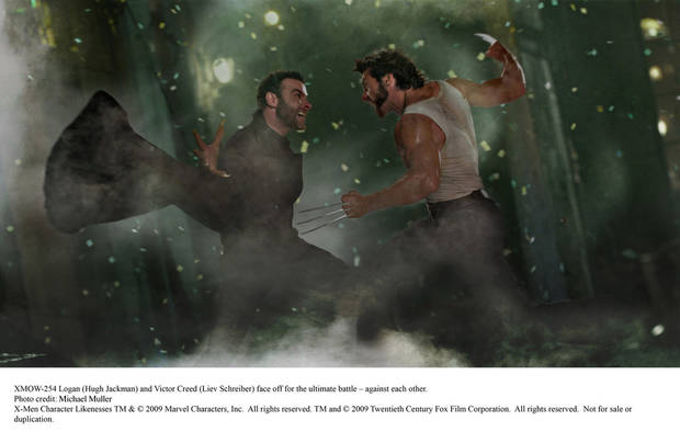 Logan (Hugh Jackman) and Victor Creed (Liev Schreiber) face off for the ultimate battle Ð against each other.