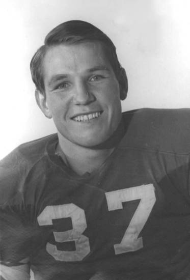 Myrle Greathouse, 1946 OU football player. OKLAHOMAN ARCHIVE PHOTO