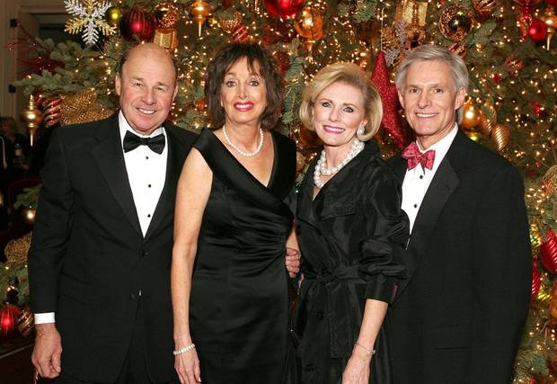 LEE BOLLINGER: Lee and Gale Bollinger, Darlene and Larry Parman     PHOTO BY DAVID FAYTINGER, FOR THE OKLAHOMAN