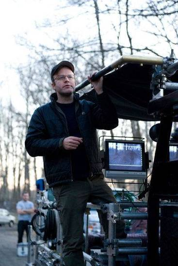 "Director Tom McCarthy on the set of ""Win Win."" Fox Searchlight photo  <strong></strong>"