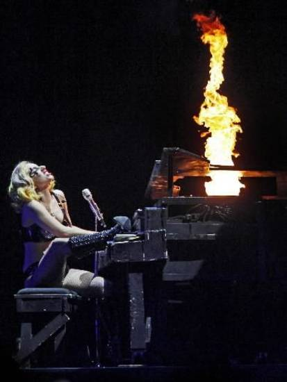 ady  Gaga performs at the Ford Center in Oklahoma City on Tuesday, July 20, 2010. Photo by Bryan Terry