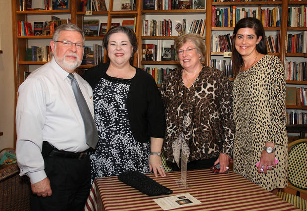 Dennis Pendleton, Karrie Oerth, Suzan Whaley, Kelly Merkur.  PHOTO BY DAVID FAYTINGER, FOR THE OKLAHOMAN