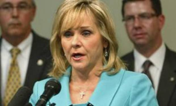 Gov. Mary Fallin. File photo.
