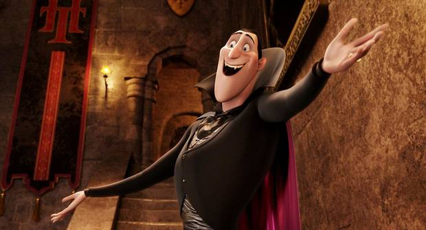 "Dracular (voiced by Adam Sandler) is the over-controlling, manic and obsessive proprietor ""Hotel Transylvania,"" a Sony Pictures Animation release. COLUMBIA PICTURES PHOTO <strong></strong>"