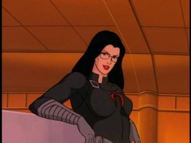 "Baroness as seen in ""GI Joe: A Real American Hero."""
