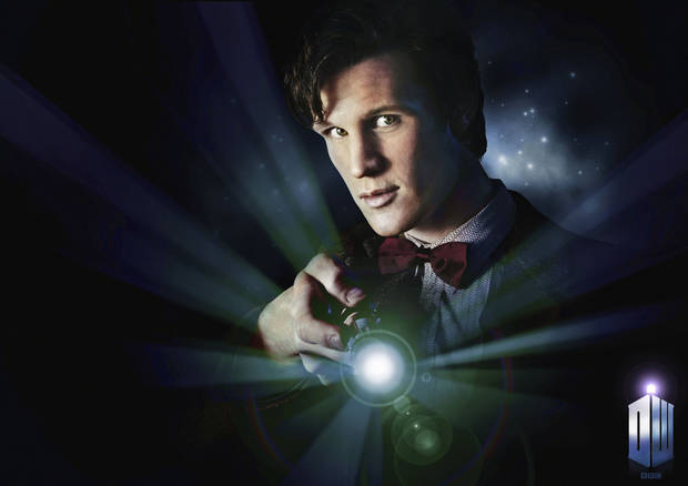 "Matt Smith as the new Doctor in ""Doctor Who."""