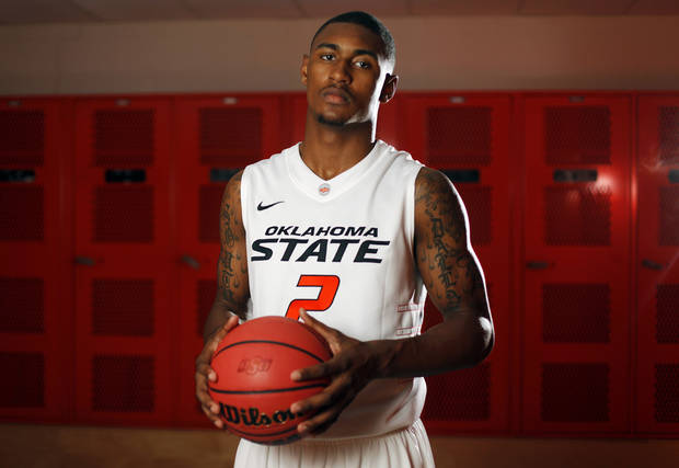 COLLEGE BASKETBALL: OSU men's basketball player Le'Bryan Nash (2) poses for a portrait at Oklahoma State University in Stillwater, Okla., Thursday, Oct. 27, 2011.  Photo by Nate Billings, The Oklahoman