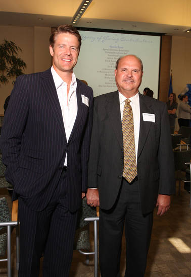Todd Edmonds, Rick Lippert. Photo by David Faytinger    <strong></strong>