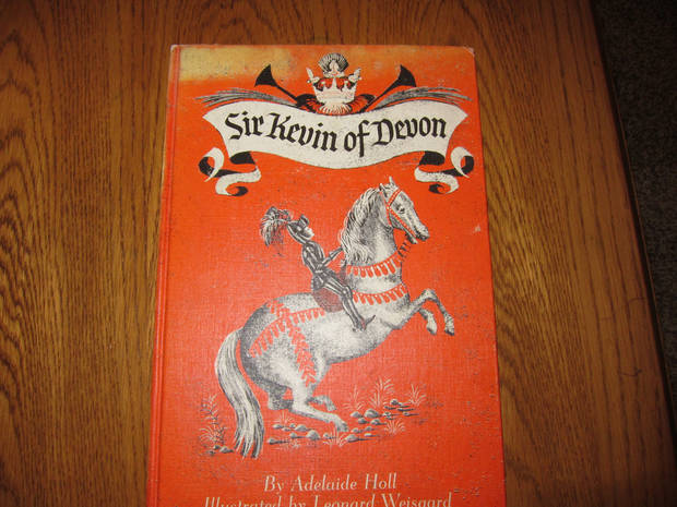 Jan Larsen searched eBay and other places to find copies of this vintage children's book to present to her family at Christmas time. Photo provided by Carla Hinton <strong></strong>