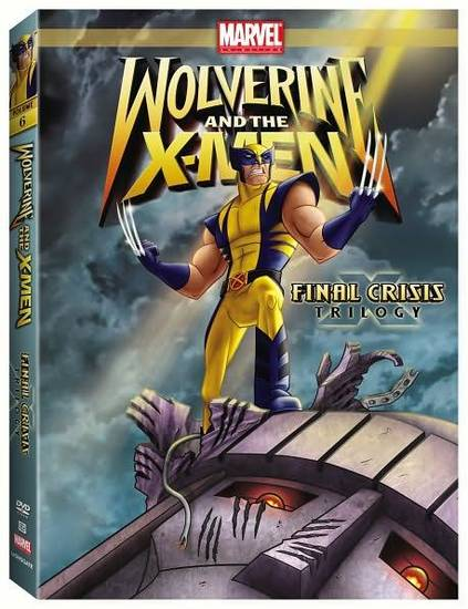 Wolverine and the X-Men Final Crisis DVD