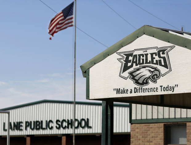 About 50 students transferred to Lane Public School after their former school, Farris School, was annexed by Lane in Atoka County.   Photo taken  March 1, 2013. Photo by Jim Beckel, The Oklahoman