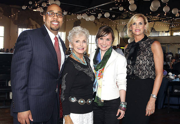 Bernard Jones, Rita Aragon, Sunny Cearley, Mary Melon. PHOTOS BY DAVID FAYTINGER, FOR THE OKLAHOMAN