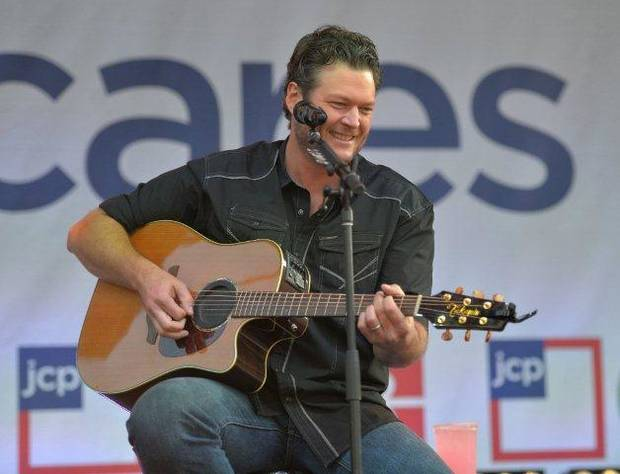 Blake Shelton (Photo provided)