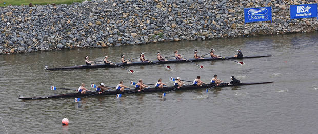 Regatta Festival on the Oklahoma River in the Boat District,  Saturday,  Sep. 29, 2012. The event ends Sunday. Photo by Jim Beckel, The Oklahoman.