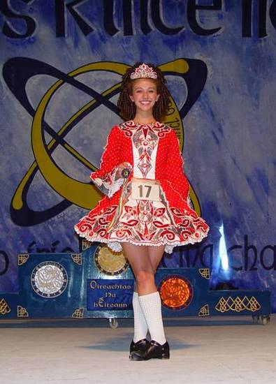 Betty Thompson of Davenport, became the first Oklahoma ever to medal at the All Ireland Irish Dancing Competition in Killarney, Ireland.<br/><b>Community Photo By:</b> Robert Thompson<br/><b>Submitted By:</b> Shelley, Oklahoma City