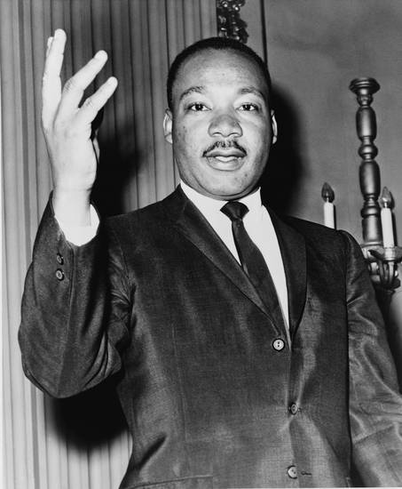 Martin Luther King Jr. Photo provided <strong></strong>