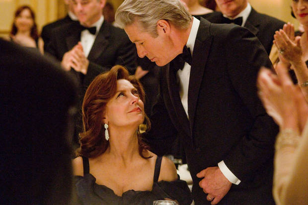 "Susan Sarandon and Richard Gere star in ""Arbitrage."" PROVIDED PHOTO <strong>Myles Aronowitz</strong>"