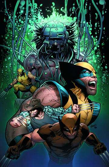 Death of Wolverine #4 Land cover