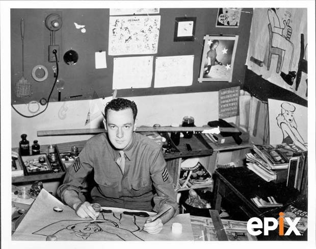 Stan Lee in 1943.