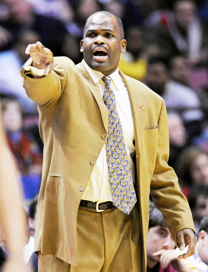 Trail Blazers coach Nate McMillan played for the Seattle Sonics for 12 years and coached there for five. AP photo