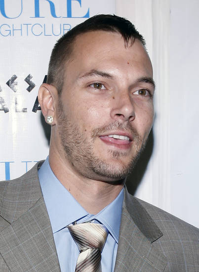 ** FILE ** In this March 21, 2008 file photo, Kevin Federline arrives for his birthday party at Pure nightclub at Caesar's Palace in Las Vegas.  (AP Photo/Isaac Brekken, file) ORG XMIT: NYET379
