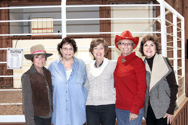 Anna McMillan, Jill Mizel, Minna Hall, Jean McCown, Wanda Reynolds. Photos provided