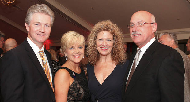 Scott Senner, Deborah McAuliffe-Senner, Sharon Stewart, James Pickel. Photo by David Faytinger