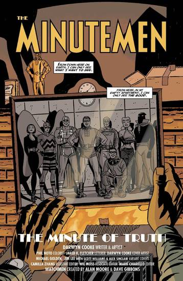 "A page from ""Before Watchmen: Minutemen"" No. 1 by Darwyn Cooke.  DC Comics. <strong></strong>"