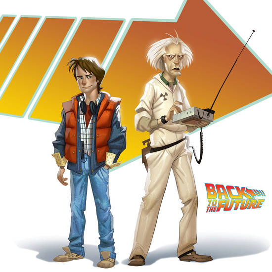 "Telltale Games' ""Back to the Future."""