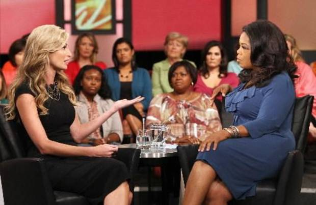 Erin Andrews appeared on the Oprah Winfrey Show (AP photo)
