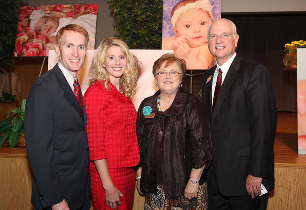 "James and Cindy Lankford, Canty Hines and Tony Kennedy attend the Hope Pregancy Centers Banquet ""Hands of Hope.''"
