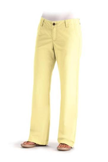 Lee straight leg jeans in Sunlight Yellow