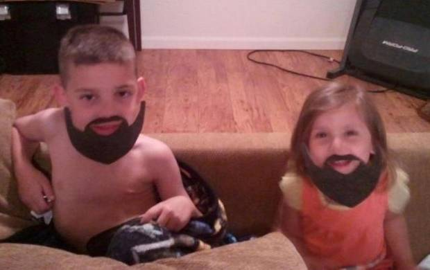 They're convinced that wearing their beards helps the team win.