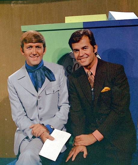 Ronnie Kaye and Dick Clark. - PHOTO PROVIDED BY RONNIE KAYE <strong></strong>