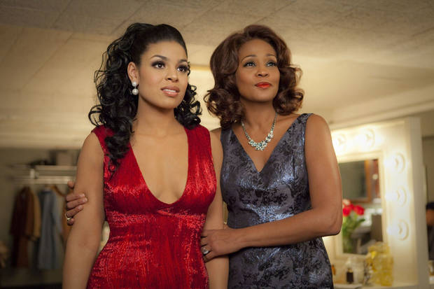 "Sparkle (Jordin Sparks) and Emma (Whitney Houston) in TriStar Pictures' ""Sparkle."" PHOTO PROVIDED <strong>Alicia Gbur</strong>"
