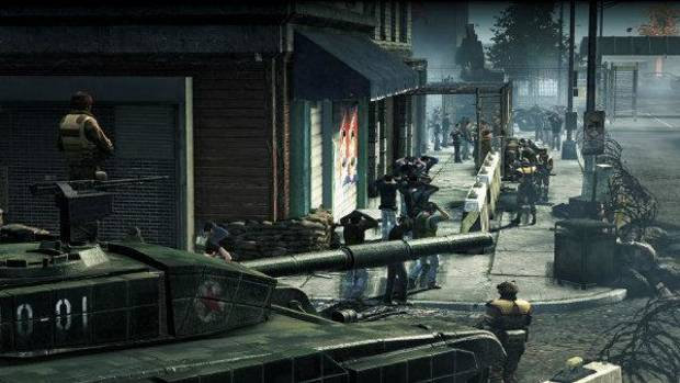 "Americans are detained by an invading Korean army in ""Homefront."" Photo provided <strong></strong>"