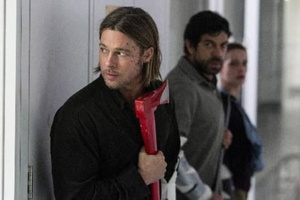 "Brad Pitt in ""World War Z"""