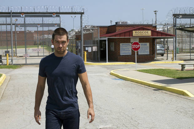 "Antony Starr is shown in a scene from ""Banshee."". - Photo credit: Fred Norris/courtesy of HBO"