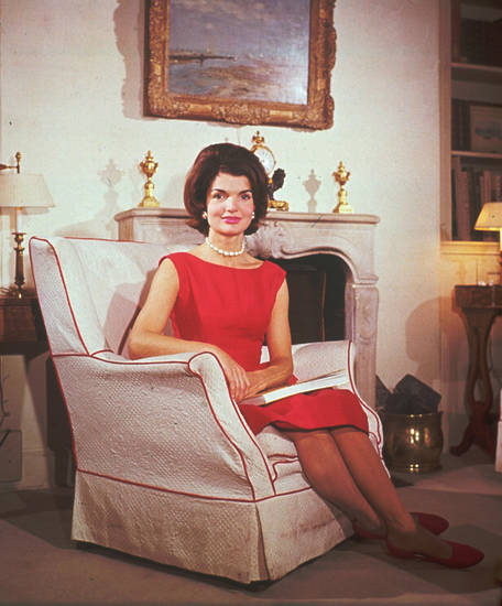 **FILE**    This undated file photo shows first lady Jacqueline Kennedy in a sleeveless dress. (AP Photo/ FILE) ORG XMIT: NYLS503