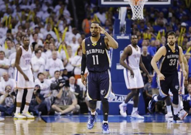 Rapid reaction: Thunder falls 87-81 to Memphis in Game 3