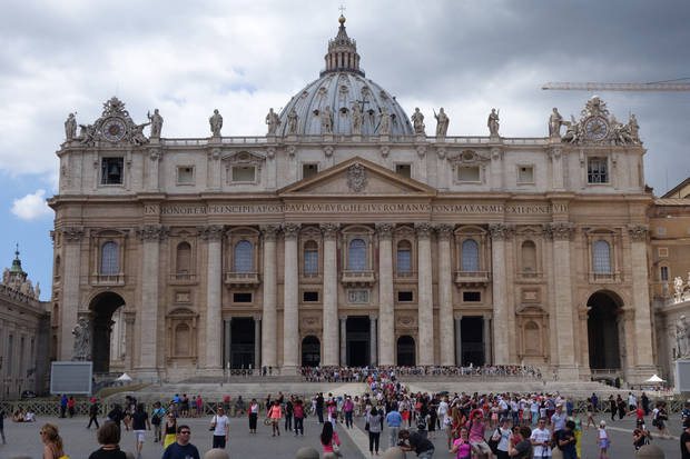 St. Peter's Basilica. (Photo by Tricia Tramel)